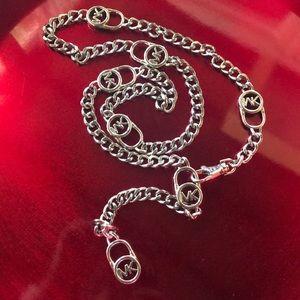 Michael  Kors Chain Hamilton Logo Belt